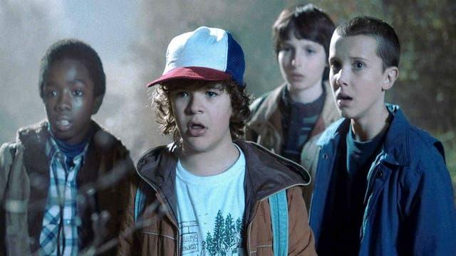 Stranger Things, uno de los éxitos de Netflix