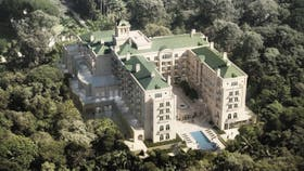 Como un palacio: el hotel Tangará, a punto de inaugurarse en pleno San Pablo