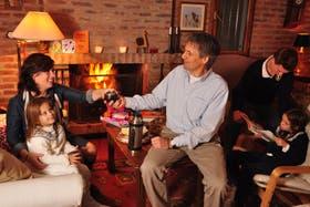Carolina y el sueco Tom Snijders se instalaron en la Argentina después del nacimiento de Mats, su primer hijo