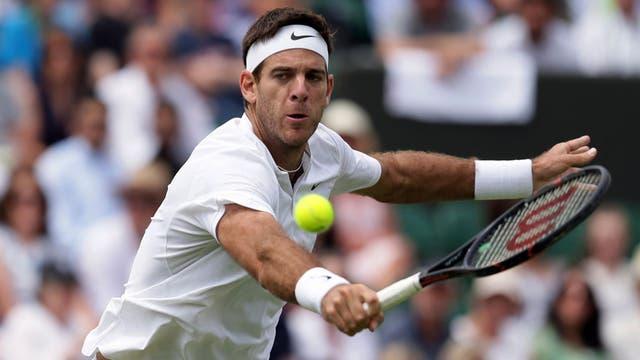 Del Potro en Wimbledon