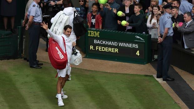 Federer y Cilic jugarán el domingo la final de Wimbledon