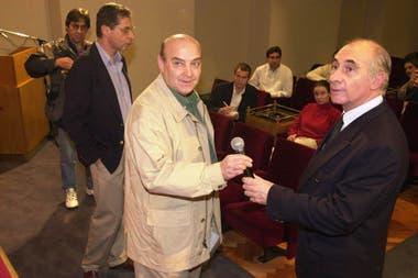 De la Rúa con su ministro de Economía Domingo Cavallo