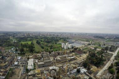 El predio de Parque Roca, donde se construiría la nueva sede del Cenard.