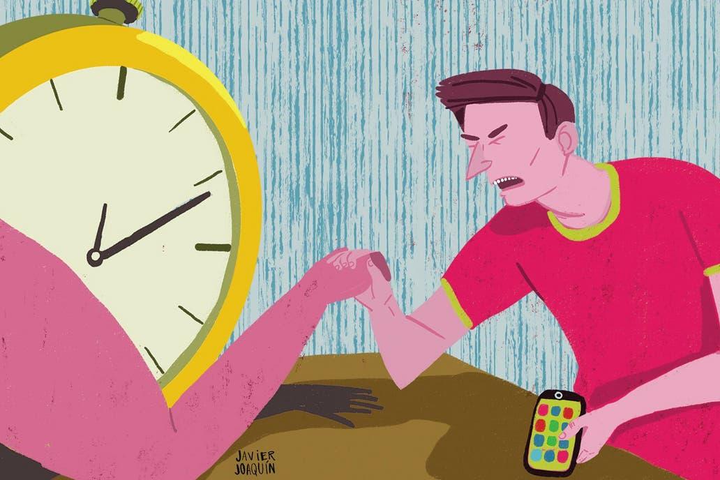 Cada vez más personas sienten que no llegan a hacer tantas cosas como quisieran por la interrupción de las apps y no saber decir que no