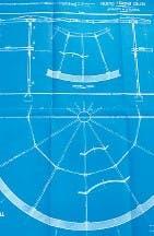 Un plano y un dibujo del Colón, tal como lo imaginaron sus constructores