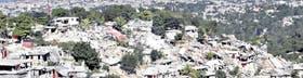 La destrucción en el área de Canape-Vert, en las afueras de Puerto Príncipe, después del devastador terremoto