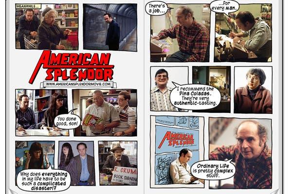 American Splendor, comic y película