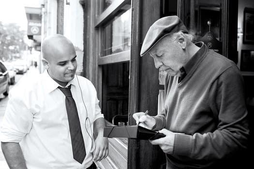 En mayo de 2013 durante la última entrevista con LA NACION. Foto: Daniel Pessah