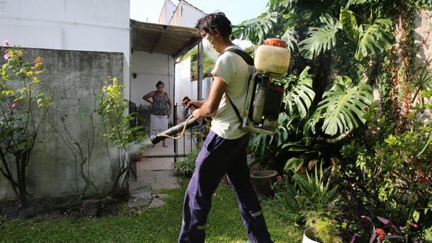 El gobierno pide que los vecinos se sumen a las tareas de limpieza en sus hogares