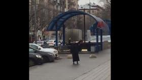 """Rusia: decapitó a una nena y salió a las calles con su cabeza y al grito de """"Alá es grande"""""""