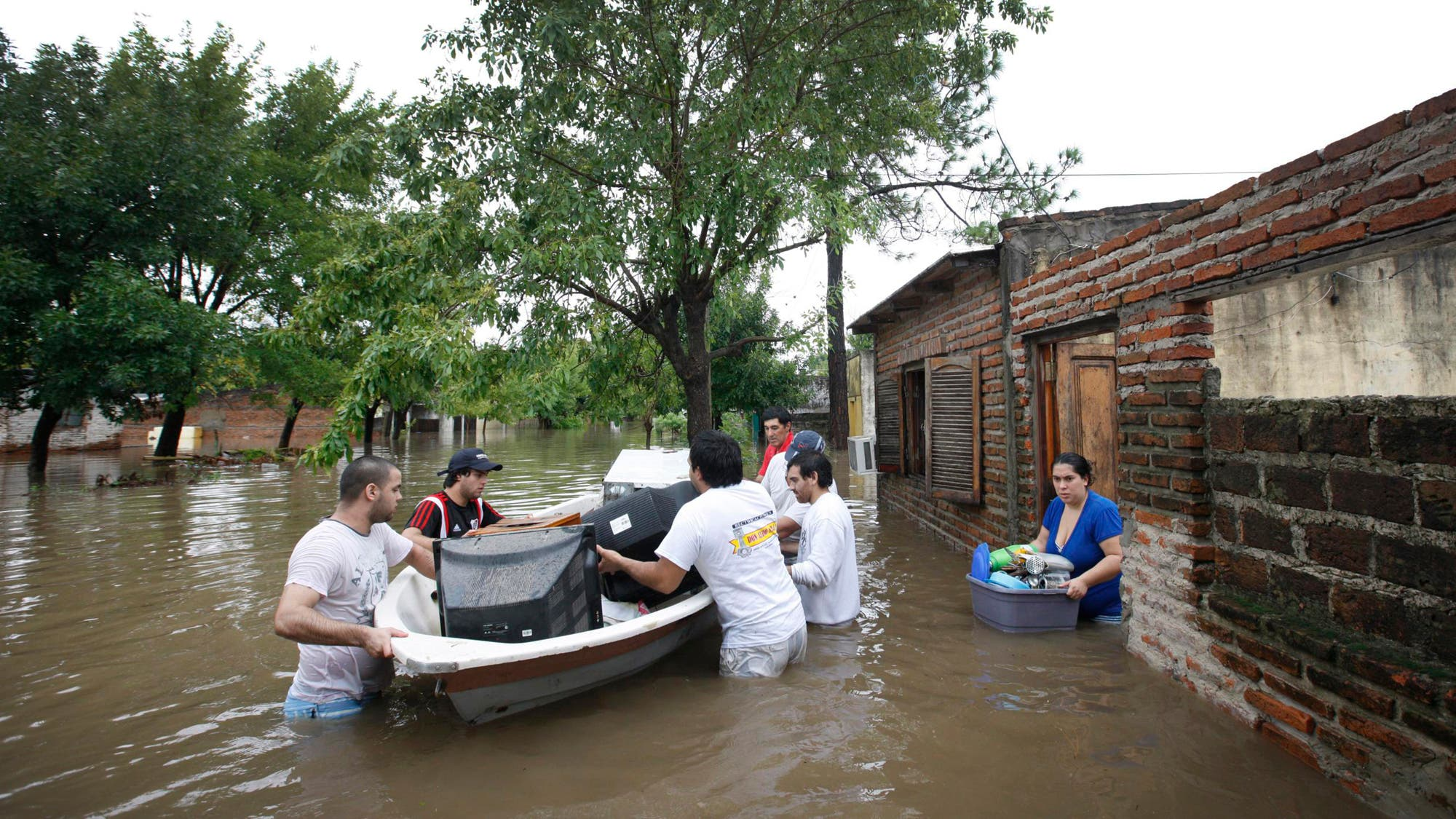 Litoral inundado