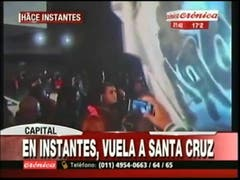 Cristina Kirchner llega a Aeroparque