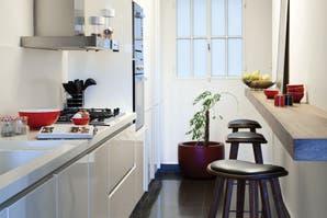Ideas para ambientar una cocina de pocos metros