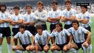 Se filtró un audio de Maradona desde el grupo de wpp de la selección 86