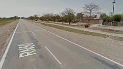 La ruta nacional 50, lugar donde fue encontrada Camila Catherina Rodríguez