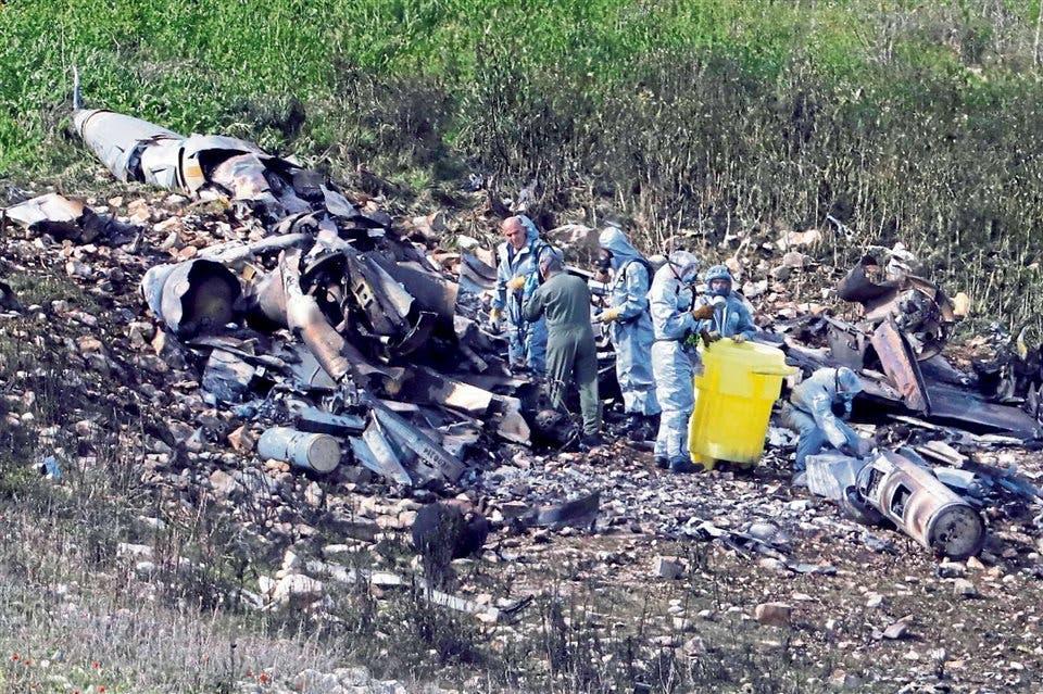 Avión de combate israelí es derribado durante incursión en Siria