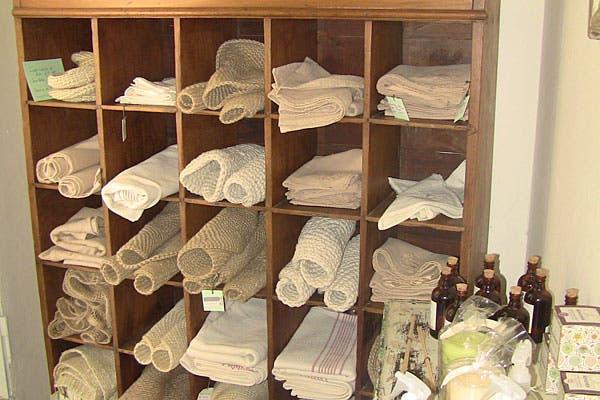 Manteles, servilletas e individuales. Foto: Cecilia Wall