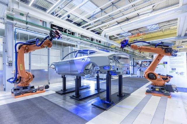 Fábrica de Audi en Ingolstadt