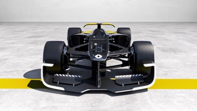 Impresora 3D. La cabina transparente del concept RS 2027 Vision, de Renault, fue hecha con esa tecnología