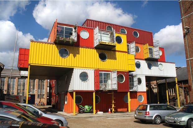 C mo es vivir en un container leila aisen revista ohlal - Container casa precio ...
