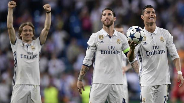 Real Madrid uno de los semifinalistas de la Champions League