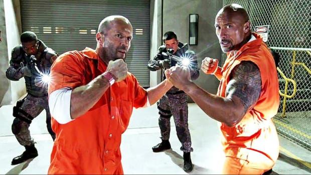 Los personajes de Deckard Shaw y Luke Hobbs estarán de regreso