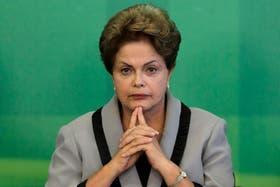 La presidenta de Brasil, Dilma Rousseff