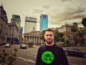 Hazem Abdoush llegó en mayo pasado a la Argentina