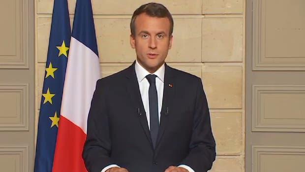 El presidente francés Emmanuel Macron invitó a su par estadounidense Donald Trump a París