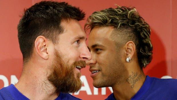 Messi y Neymar, juntos en Japón
