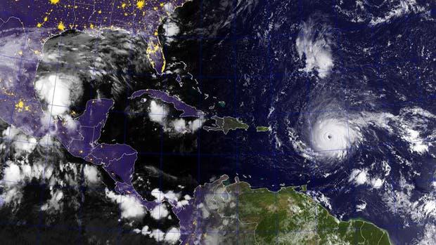 El huracán Irma tocó tierra en el Caribe y Donald Trump declaró la emergencia en Florida