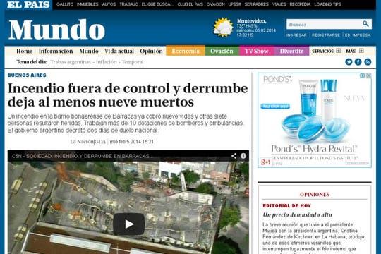 El País, de Uruguay. Foto: Archivo