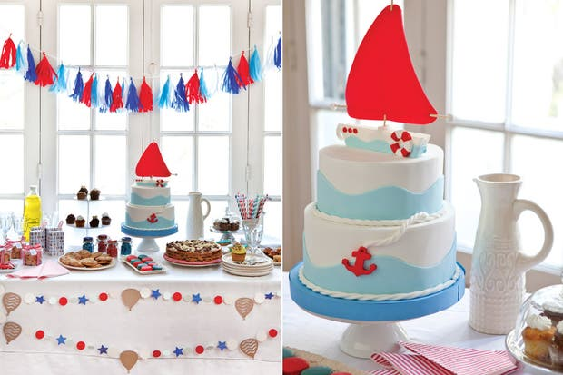 Tortas infantil marinero imagui - Decoracion estilo marinero ...