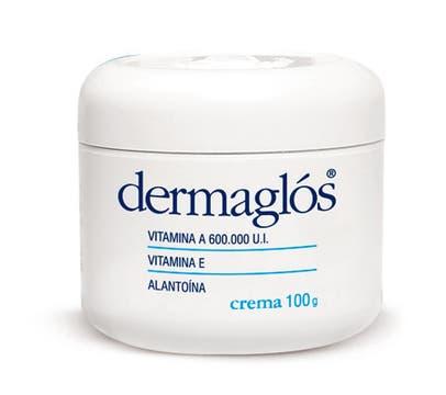 Dermaglos. Línea terapéutica. Con vitamina A y alantoína, posee acción protectora ($ 27,75).
