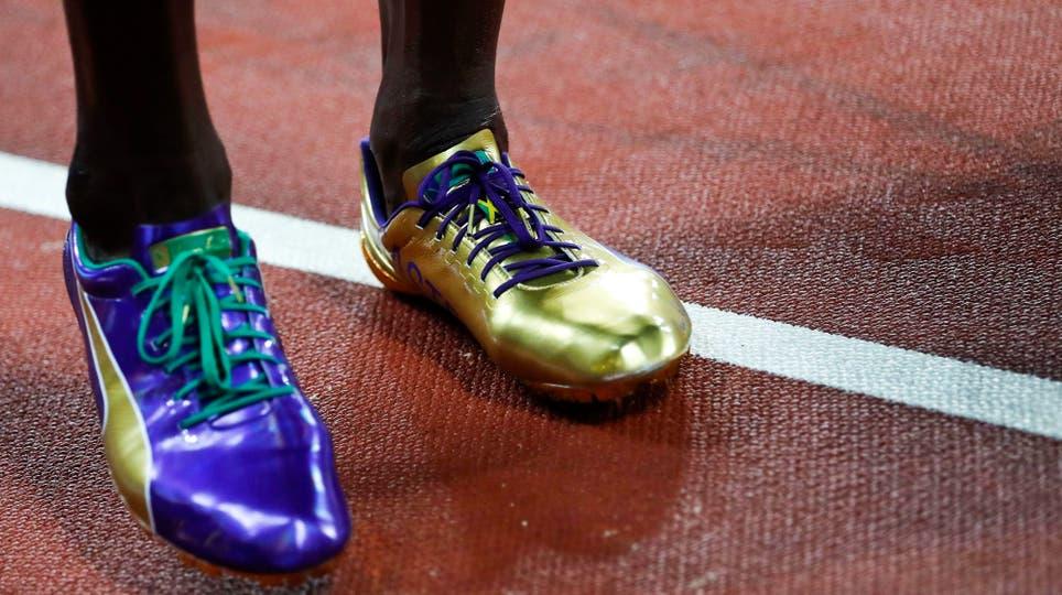 En su última carrera de los 100 metros, Usain Bolt fue tercero y ganó Justin Gatlin. Foto: Reuters / Kai Pfaffenbach