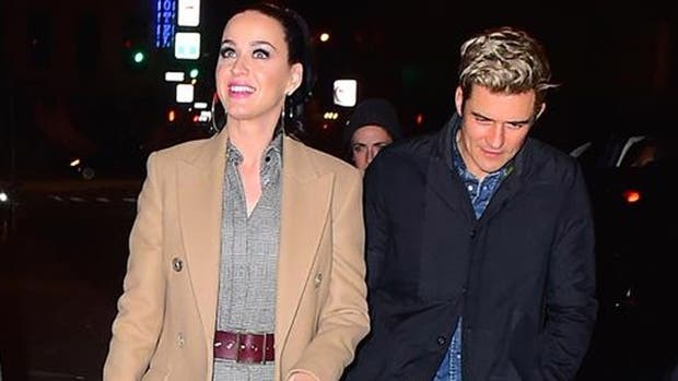Fans captan a Orlando Bloom en cita con Katy Perry