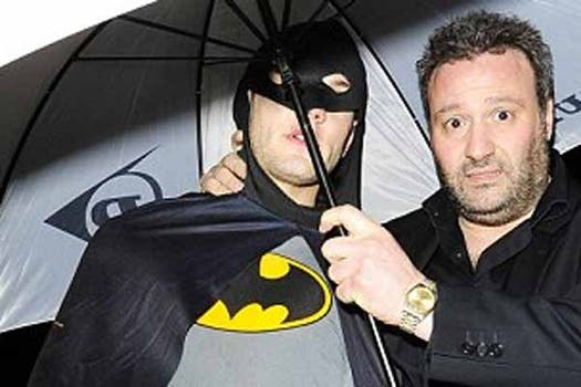 Jack Wilshere de Batman. Foto: Daily Mail
