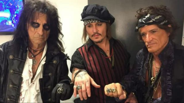 Los Hollywood Vamps y un gran tributo a un icono del rock