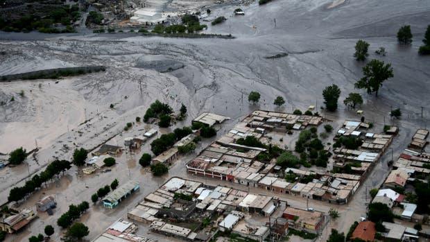 Así quedó la zona de Volcán, tras el alud de lodo