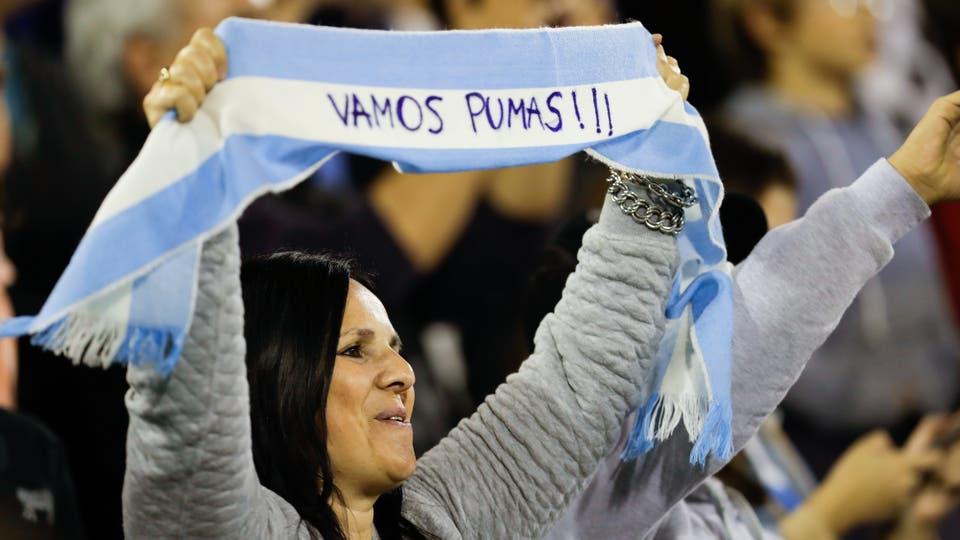 Los Pumas vs All Blacks en Vélez. Foto: AP / Natacha Pisarenko