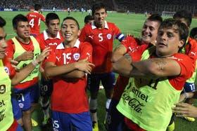 La alegría fue chilena