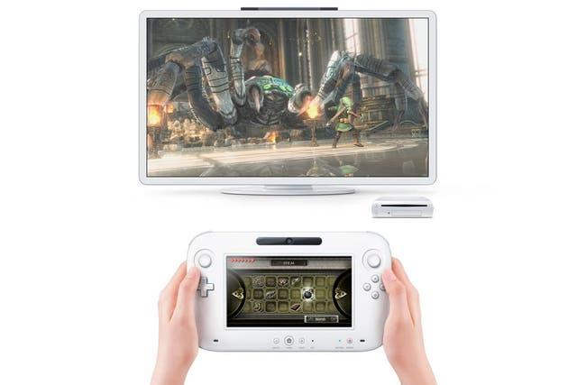 Una Nintendo Wii U. Llegó al mercado en noviembre de 2012