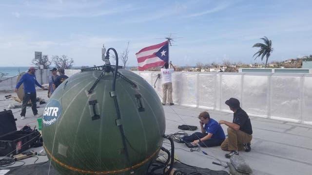 Google llevará globos con internet a Puerto Rico