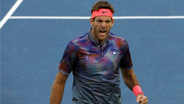 Del Potro ganó una batalla en el US Open