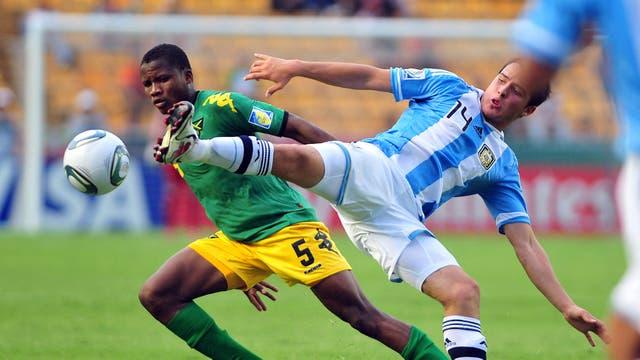 Zárate jugó en las selecciones juveniles