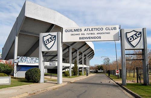 El estadio de Quilmes
