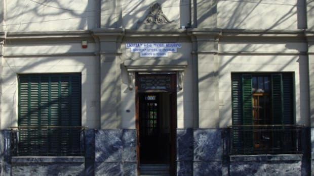 La escuela Manuel Belgrano de la comuna de Godoy Cruz, donde ocurrió el hecho