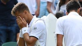 Klizan, decepcionado tras su retiro ante Djokovic
