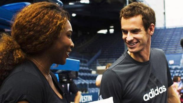 Serena Williams no ahorró en elogios para Andy Murray