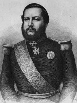 Francisco Solano López fue presidente de Paraguay desde 1862 hasta su muerte, en 1870.